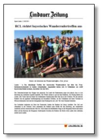 RCL richtet bayerisches Wanderrudertreffen aus