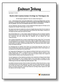 Ruderclub Lindau heimst Erfolge in Nürtingen e